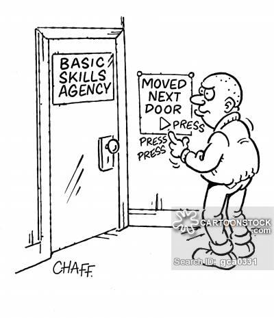 Basic Skills Agency - Moved Next Door.