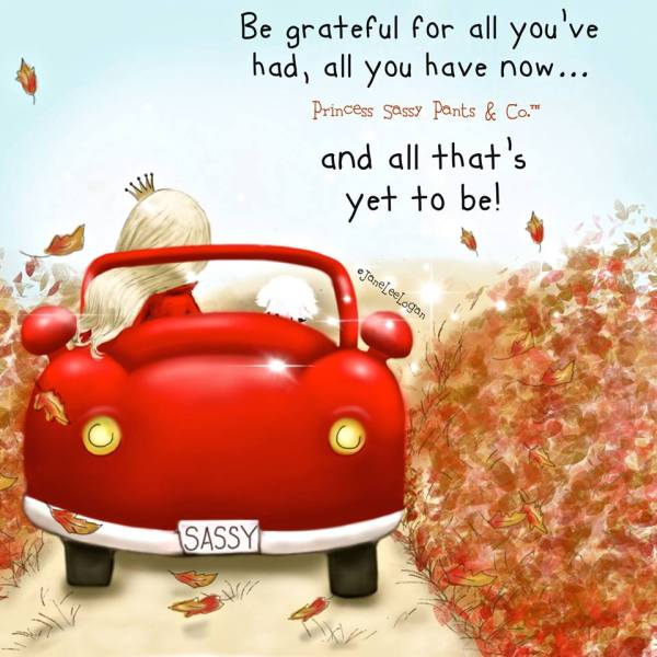 be grateful for all you have