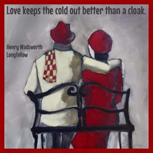 love keeps the cold out