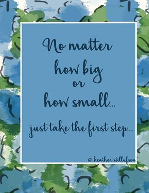 no matter how big or small