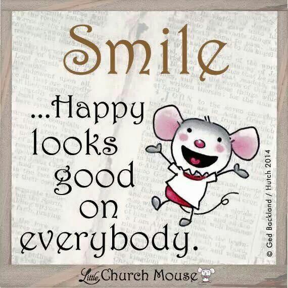 smile happy looks good